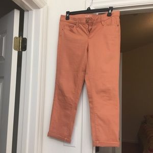 Peach Loft Modern Crop pants 👖